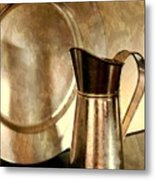 The Copper Pitcher Metal Print