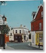 The Corner Note, Dalkey Metal Print