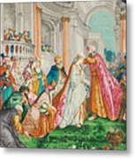The Coronation Of Esther Metal Print