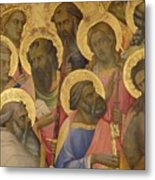 The Coronation Of The Virgin Metal Print by Lorenzo Monaco