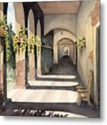 The Corridor 2 Metal Print by Sam Sidders
