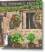 The Cotswold Arms Metal Print