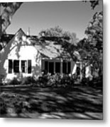 The Cottage House Metal Print