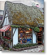 The Cottage Of Sweets - Carmel Metal Print