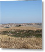 The Country In The Tuscany Region Metal Print