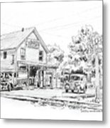 The County Line Store, 1931 Metal Print