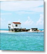 The Crab Shack Metal Print