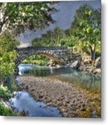 The Crabb Creek Bridge Metal Print