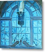 The Craftsmen Lantern Metal Print