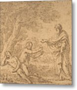 The Creation Of Eve  Metal Print
