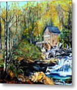 Glade Creek Metal Print