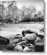 The Creek Metal Print