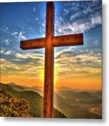 The Cross The Choice Pretty Place Chapel Greenville South Carolina Art Metal Print