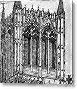 The Crossing Tower Metal Print