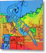 The Crowbar Ybor City Metal Print