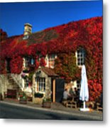 The Crown At Kelston Metal Print
