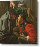 The Crowning With Thorns And The Mocking Of Christ Metal Print