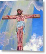 The Crucifixion Day Metal Print