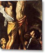 The Crucifixion Of Saint Andrew Metal Print