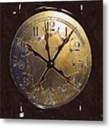The Crucifixion Of Time Metal Print