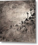 The Crucifixion Metal Print