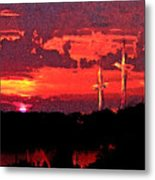 The Crucifixtion Metal Print