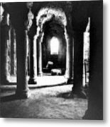 The Crypt Metal Print