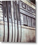 The Cta Train Metal Print