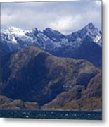 The Cuillin Mountains Isle Of Skye Metal Print