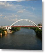 The Cumberland River In Nashville Metal Print