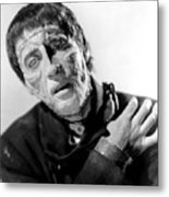 The Curse Of Frankenstein Christopher Lee 1957 Metal Print
