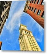 The Custom House Metal Print