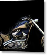 The Custom Rocker Metal Print
