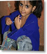 The Cutest Kid In India Metal Print