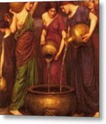 The Danaides Metal Print by Pg Reproductions