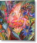 The Dance Of Flowers Metal Print
