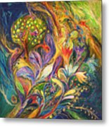 The Dance Of Lilies Metal Print