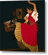 The Dance Of Passion Metal Print