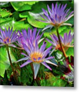 The Dance Of The Lillies Metal Print