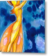 The Dancer Becomes The Dance Metal Print
