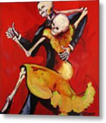 The Dancers Metal Print