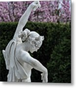 The Dancing Lesson Statue Metal Print