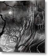 The Dark Castle Metal Print