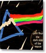 The Dark Side Of The Moon  Metal Print