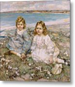 The Daughters Of Bertram Roberts Metal Print