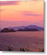 The Dawn Of Time Over St. Thomas Metal Print