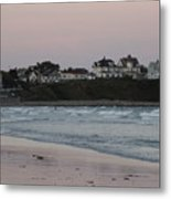 The Day Is Done At Long Sands Beach Metal Print
