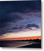 The Day Rests Metal Print