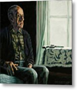 The Decision Metal Print by John Lautermilch