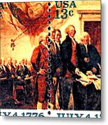 The Declaration Of Independence  Metal Print by Lanjee Chee
